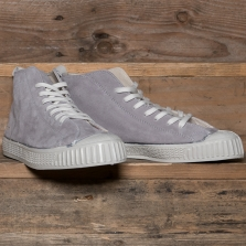LASKAAS Suede High Top Grey