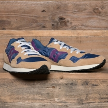 SAUCONY S70369-19 Dxn Trainer Vintage Tan Blue Purple
