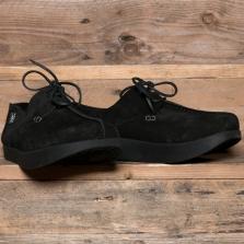 YOGI Lennon Negative Heel Shoe Suede Black
