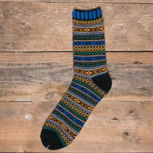 COMFY SOCKS Bohemia Socks Blue