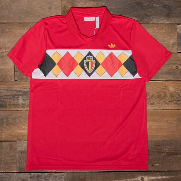 the best attitude e8d59 f9379 adidas Originals – Ce2337 Belgium Shirt Red