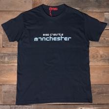 80s Casuals 80s Manchester T Shirt Blue