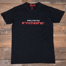 80s Casuals 80s Manchester T Shirt Red