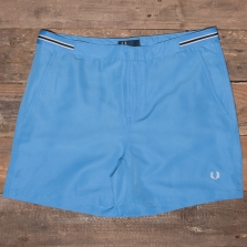 Fred Perry S1502 Bomber Tape Swimshort A78 Utility Blue