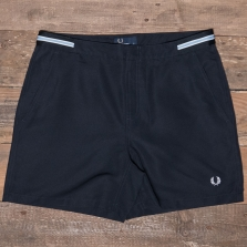 Fred Perry S1502 Bomber Tape Swimshort 608 Navy