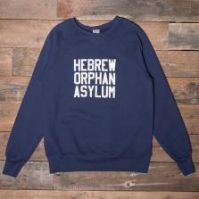 EBBETS FIELD FLANNELS Hebrew Orphan Asylum Sweatshirt Navy