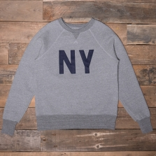 EBBETS FIELD FLANNELS New York Gothams Sweatshirt Grey