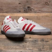 adidas Originals Cq2216 Samba Classic Og White Scarlet
