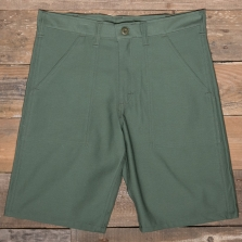 Stan Ray 5500 Fatigue Short Washed Sateen Olive