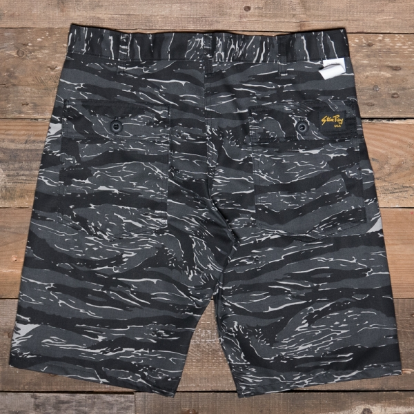 Stan Ray 5500 Fatigue Short Black Tiger Stripe The R Store