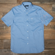 Fred Perry M3531 Classic Oxford Shirt 111 Mid Blue