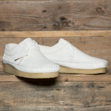 Clarks Originals Weaver Suede White