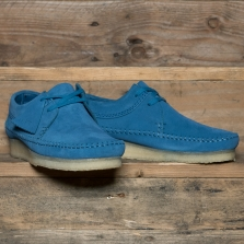 Clarks Originals Weaver Suede Ocean Blue