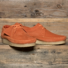 Clarks Originals Weaver Suede Spice Orange