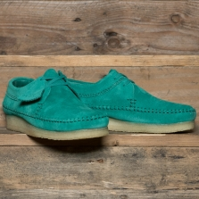 Clarks Originals Weaver Suede Emerald