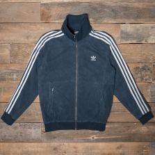 adidas Originals Dh7081 Suede Track Jacket Navy