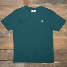 WOOD WOOD Ace Badge T Shirt Pine Green
