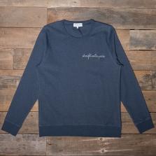 MAISON LABICHE Sweatshirt Straight Outta Paris Navy