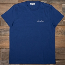 MAISON LABICHE Heavy Tee Old School Navy