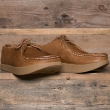YOGI Willard Negative Heel Shoe Leather Tan