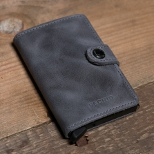 SECRID Miniwallet Vintage Grey/black