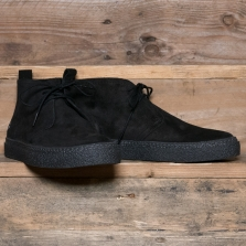 Fred Perry B4340 Hawley Suede Boot 220 Black