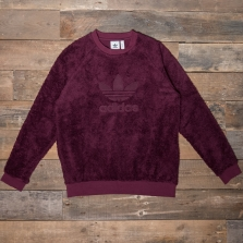 adidas Originals Dh7077 Winterized Crew Maroon