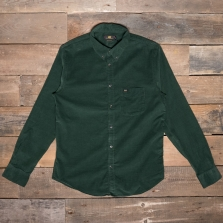 LEE Lee Button Down Cord Shirt Forest Green