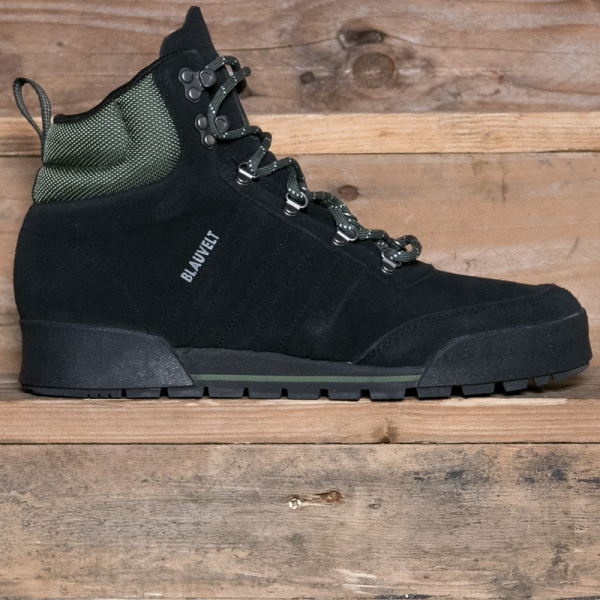 adidas Originals B41494 Jake Boot 2.0 Black Green - The R Store