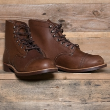 Red Wing 08111d Iron Ranger Boot Amber Harness