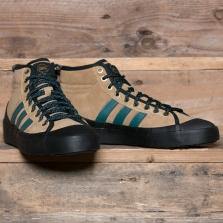 adidas Originals B27962 Matchcourt High Rx3 Tan Green Black