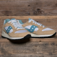 SAUCONY Shadow 5000 Vintage S70404 8 Tan White Blue