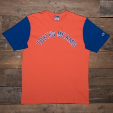 Champion Beams 212623 Beams Collegiate Print T Os021 Orange