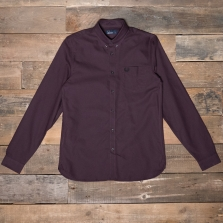 Fred Perry M3551 Classic Oxford Shirt G21 Deep Mahogany
