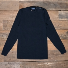 SAINT JAMES Rochefort Wool Sweater Cc Navy