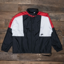 NIKE Nsw Re Issue Jacket Aq1890 010 Black University Red