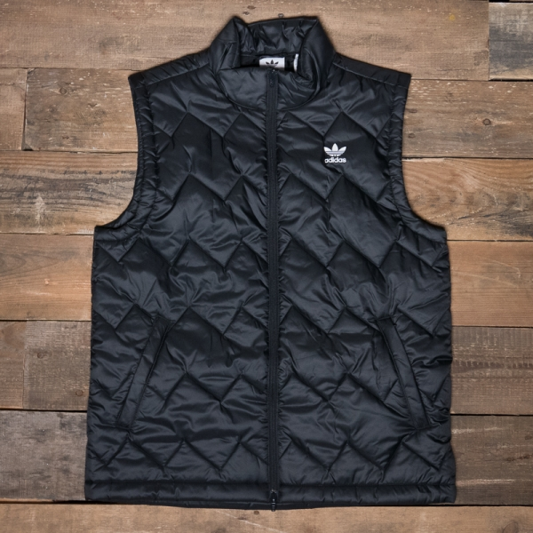 Adidas Sst Puffy Vest in Blue