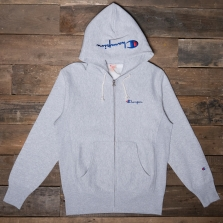 CHAMPION 212579 Hooded Zip Sweatshirt Em004 Grey