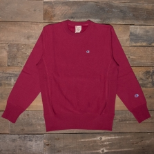 CHAMPION 212572 Reverse Weave Fleece Back Sweat Rs507 Burgundy