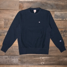 CHAMPION 212572 Reverse Weave Fleece Back Sweat Bs501 Navy
