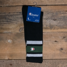 CHAMPION 804393 Crew Socks Kk001 Black