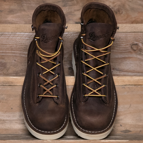 Danner Bull Run 6 Boot Waxed Brown The R Store