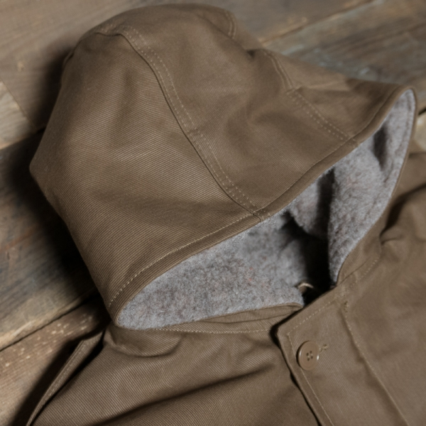 Pike Brothers 1947 N1 Deck Parka Waxed Brown The R Store