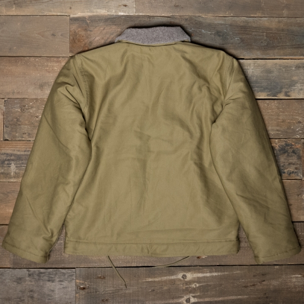 Pike Brothers 1944 N1 Deck Jacket Khaki The R Store