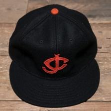 EBBETS FIELD FLANNELS Tok40c Jersey City Wool Cap Black