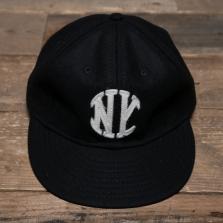 EBBETS FIELD FLANNELS New York Knickerbockers 1912  Wool Cap Black
