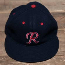 EBBETS FIELD FLANNELS Seattle Rainiers 1957 Wool Cap Blue
