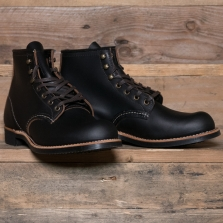 Red Wing 03345d Blacksmith Boot Smooth Black