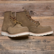 Red Wing 08881d Classic Moc Boot Olive Rough Out Mohave