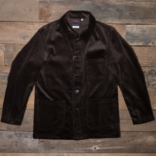 VETRA 4 Workwear Jacket Whale Cord Brown
